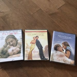NWT Chick Flick DVD bundle The Notebook Etc